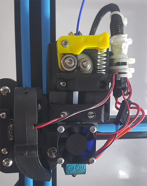 Direct extruder mod for CR-10