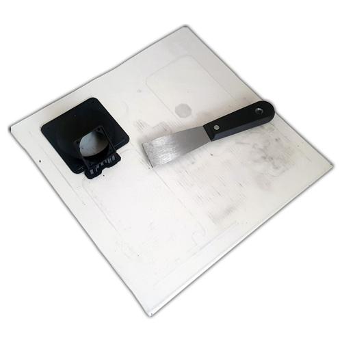 Bed build surface - Polycarbonate Lexan sheet