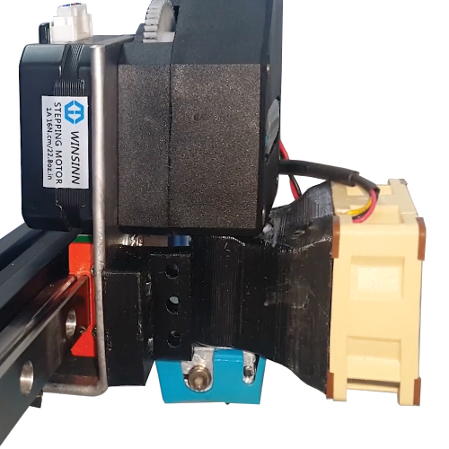Light direct drive with BMG extruder on MGN12 rail