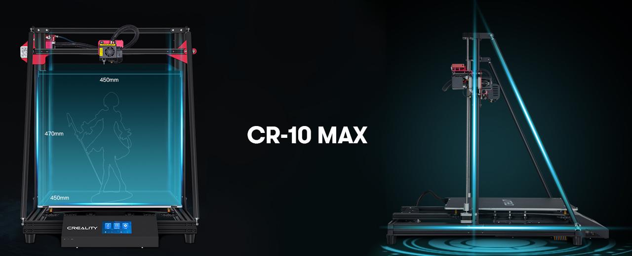 CR-10 MAX – huge volume 3d printer review