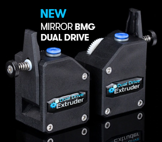 The all new mirror BMG extruder from trianglelab