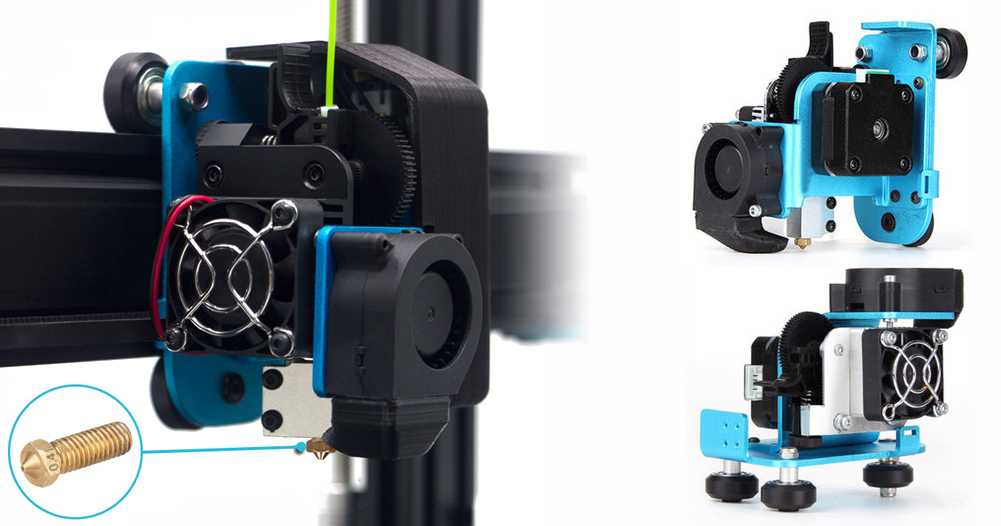 Artillery X1 features direct drive extruder