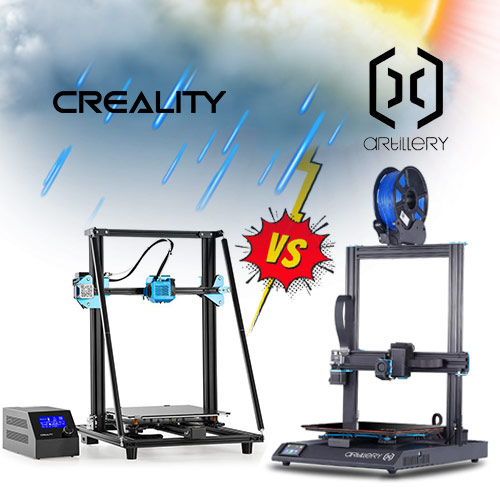 Artillery X1 or Creality CR10 V2 is the best cartesian printer in 2020?