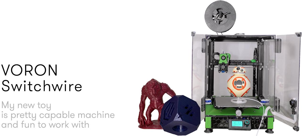 Voron Switchwire – DIY CoreXZ 3d printer