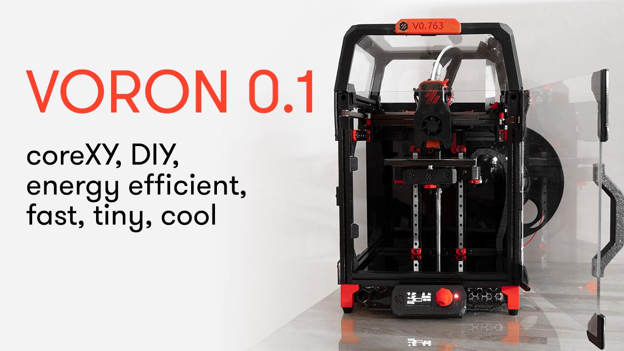 Voron Zero V0.1 – 3d printer review